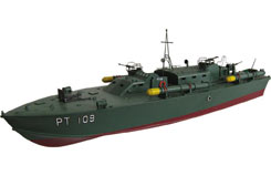 PT-109 Torpedo Boat RTR 26cc Petrol - b-van500a-gpr