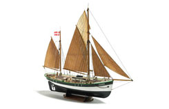 Dana Fishing Boat 1/60Th Scale - b200