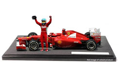 1/18 Ferrari F2012 Fernando Alonso - bbw94
