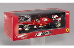 Hotwheels Ferrari 1/18 F2013 (Massa - bck15