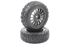 Carisma M40S Glued Wheel/Tyre Set - ca14978