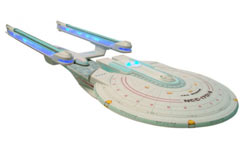 Diamond Star Trek Enterprise B Ship - d121760