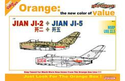 1/72 Jian Ji-2 + Jian Ji-5 (Mig-15) - dr2517