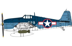 1/72 Grumman F6F-3 Hellcat - dr5060