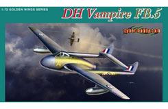 1/72 Dh Vampire Fb.5 Fighter Bomber - dr5085