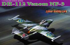 1/72 DH-112 Venom NF-3 Plane - dr5116