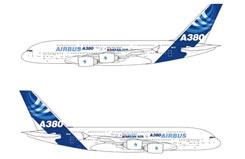 1/400 Airbus A380  Korean Airplane - dr56210