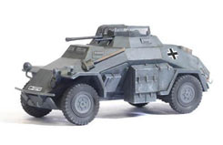 1/72 Sd.Kfz.222 German Armoured - dr60406