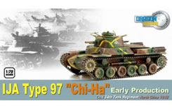 1/72 Japanese Type 97 Chi-Ha Tank - dr60432