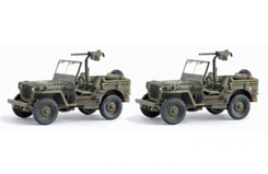 1/72 Us 1/4 Ton 4X4 Truck W/.30Cal - dr60507