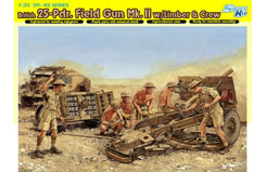 1/35 British 25-Pdr. Field Gun - dr6675