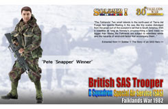 Pete 'Snapper' Winner British Sas - dr70846