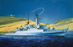 1/700 HMS Antelope Type 21 Frigate - dr7122