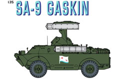 1/35 Soviet Sa-9 Gaskin Sam Vehicle - dr9138