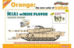 Us M1A1 Abrams 'Desert Storm' Kit - dr9141