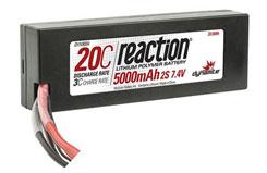 Reaction 7.4volt 5000mAh 2S 20 - dyn9004d