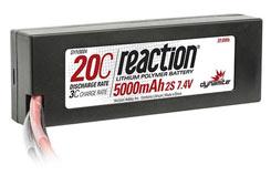 Dynamite Reaction 7.4v 5000mAh 20C - dyn9004t