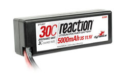 Reaction 11.1V 5000mAh 3S 30C LiPo - dyn9007t