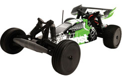 1/10 Boost 2WD Black/Green RTR - ecx03025i