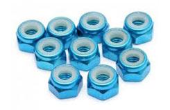 M4 Nylock Blue Pk 10 - ed130054