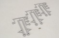 Scale Tri-Gear Strut Covers - 40 - f-rb106