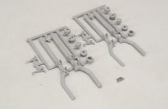 Scale Main Offset Strut/Covers - 40 - f-rb107