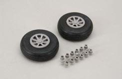 Scale Wheel-Straight Tread(2.75inch/Pr - f-rb113