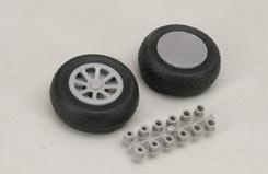 Scale Wheel-Diamond Tread(2.25inch/Pr) - f-rb130