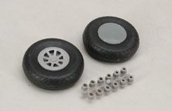 Scale Wheel-Diamond Tread(2.75inch/Pr) - f-rb132