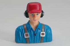 Civil Pilot (1/6 Blue) - f-rmx511-b