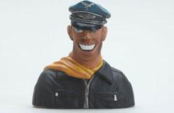 Slimline Pilot Bust - Fly boy - f-sln7000