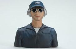 Slimline Pilot Bust - Ice Man - f-sln7009
