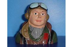 Pilot - Painted WW11 60 Hurr/P-40 - f-vq-ap04