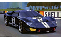 1/24 Ford GT-40 Mk-II 'The 1st' - f12101