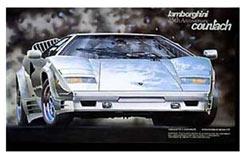 1:24 Lamborghini Countach 25Th - f12411