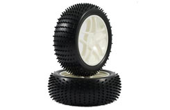 Fastrax 1/8 Spear Tyre Set 5 Spoke - fast0018