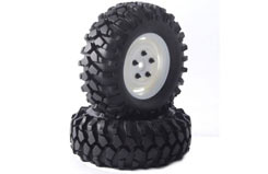 Fastrax Kong 90mm Crawler Tyres - fast0065w