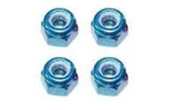 Fastrax M3 Blue Locknuts - fastm3b