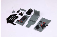 FMS 1700mm P51 Plastic Scale Ckpit - fs-sg310