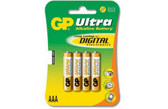 GP24AU AAA Alkaline Battery 4 Pack - gp24au