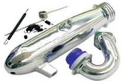 H.A.R.D Shark Adj/Inline Pipe Set - h2503