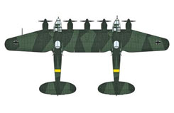 1:72 Heinkel HE111Z-2 Long Range - ha1940