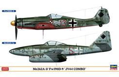 1:72 Me262A & Fw190D-9 Jv44 Combo - ha1952