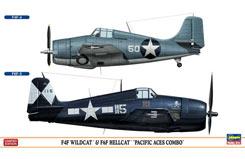 1:72 F4F & F6F Pacific Aces Combo - ha1964