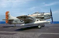 1:72 Ad-6 Skyraider Va-65 Tigers - ha2005