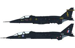 1:72 Jaguar Gr Mk.1A/T Mk.2A Black - ha2008