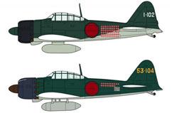 1:72 Mitsubishi A6M2B/A6M5 Zero - ha2009