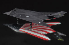 1:72 F-117A Nighthawk Farewell - ha2011
