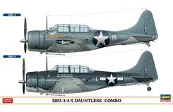 1:72 Sbc-3/4/5 Dauntless Combo - ha2026