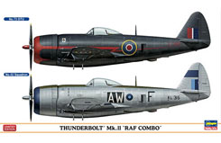 1:72 Thunderbolt Mk.II Raf Combo - ha2033
